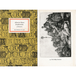 Albrecht Dürer Kupferstiche - Inselbücherei Nr. 960