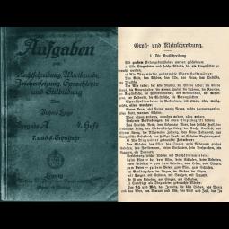 Aufgaben zur Rechtschreibung, Wortkunde, Zeichensetzung, Sprachlehre und Stilb..