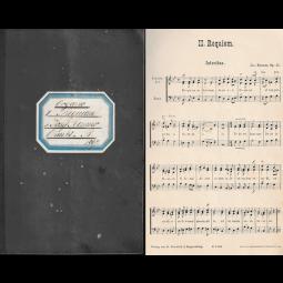 Notenheft, Organo - II. Requiem Opus 45