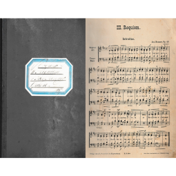 Notenheft, Organo - III. Requiem Opus 40